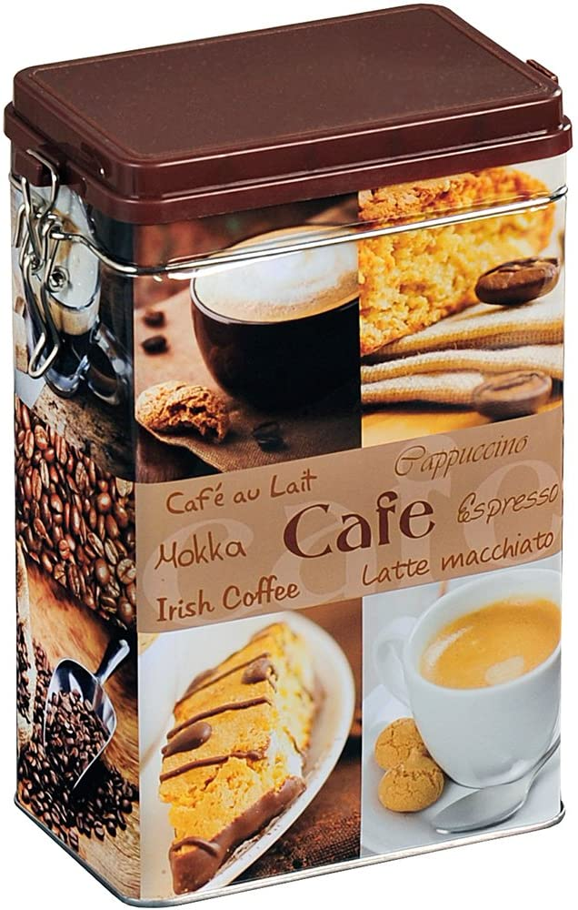 BARATTOLO CAFFÈ RETTANG ASSORT 140X85X195MM 076181