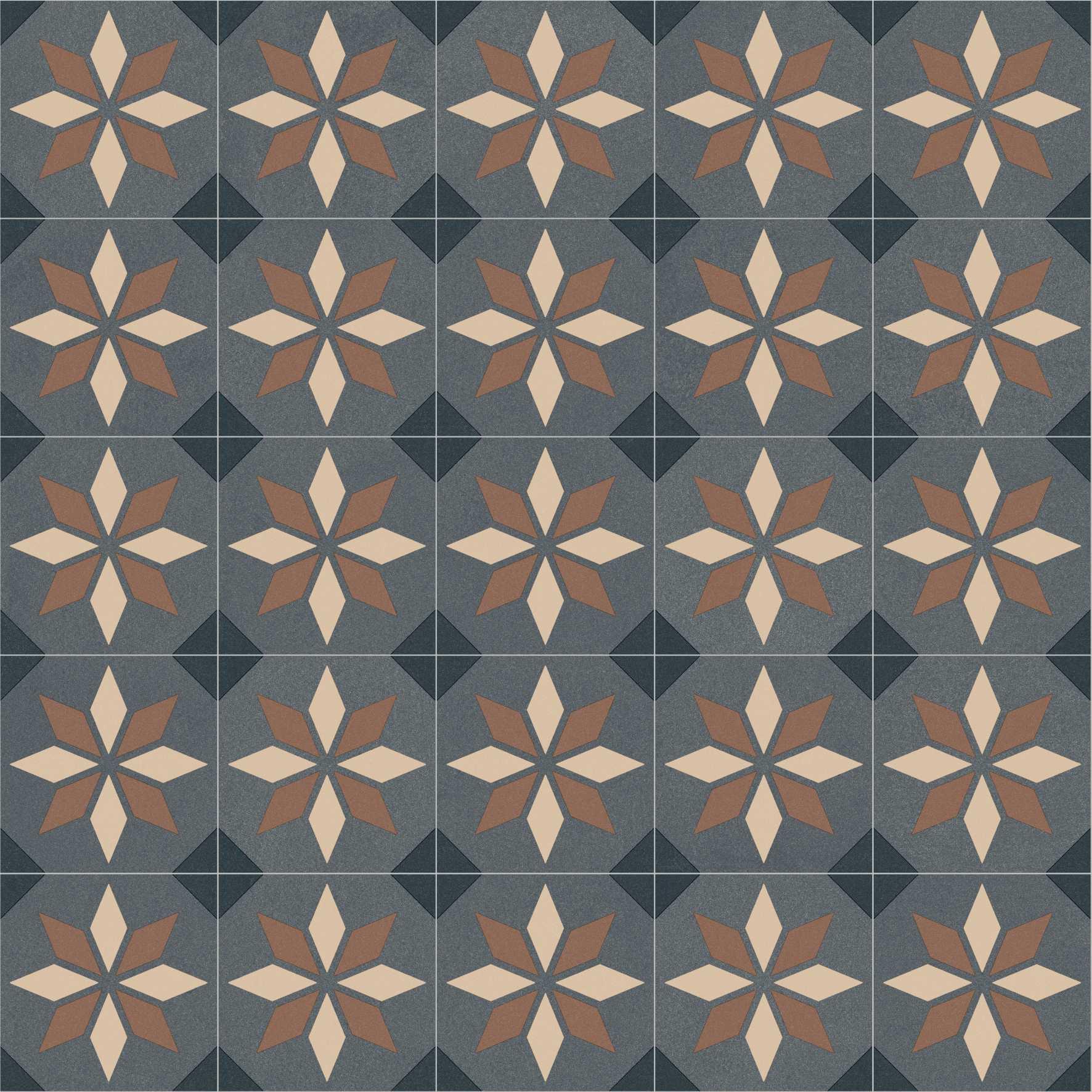 PASSATOIA VINILE BOHO CHIC DECORO SCOTTSDALE 691M H.50 cm X 100 cm